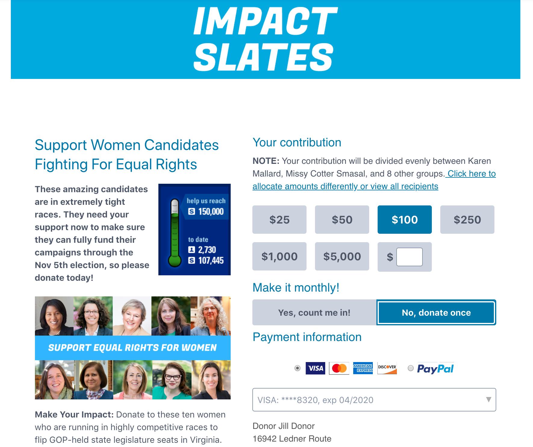 Impact Slates