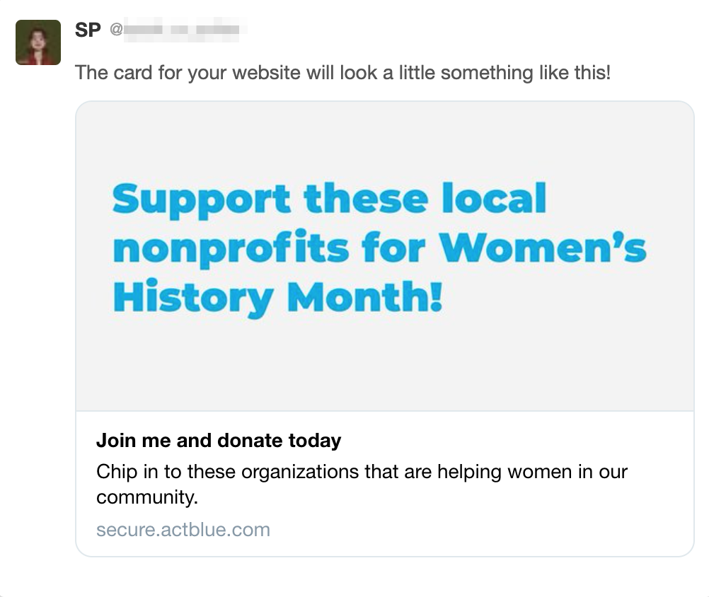Support these local nonprofits for Women's History Month! On a social share graphic