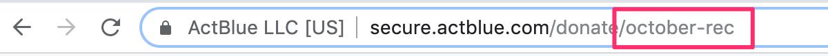 web address in url